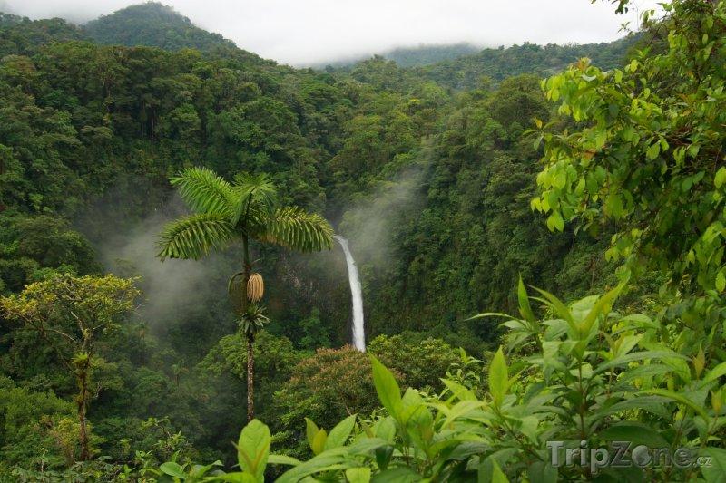 Fotka, Foto Vodopád La Fortuna (Kostarika)