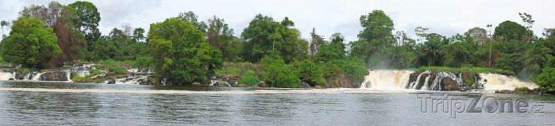 Fotka, Foto Vodopády Lobé u města Kribi (Kamerun)