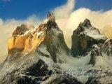Vrcholky hor v Torres del Paine