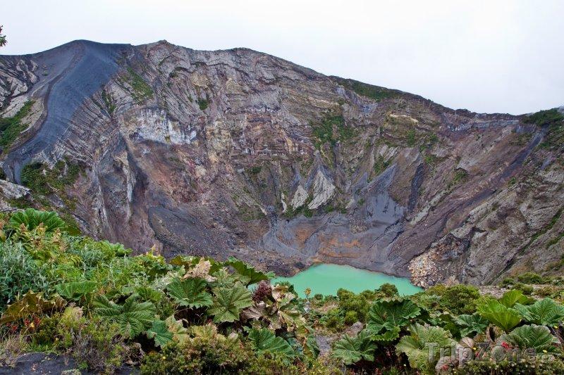 Fotka, Foto Vulkán Irazú u města San José (Kostarika)