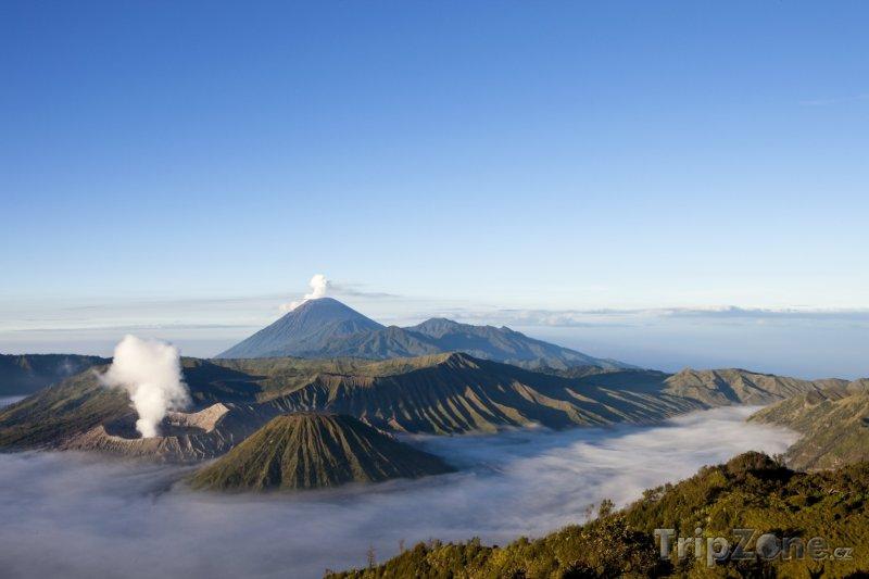 Fotka, Foto Východní Jáva, vulkán Mount Bromo (Indonésie)