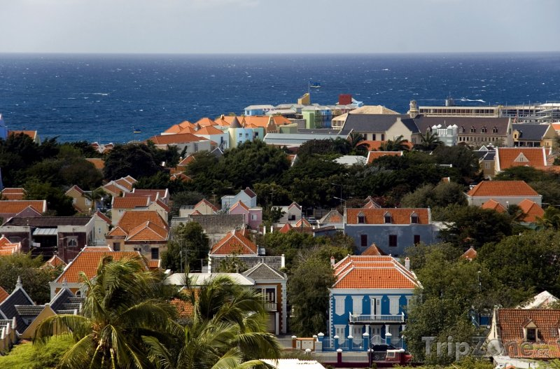 Fotka, Foto Willemstad panorama (Curacao)