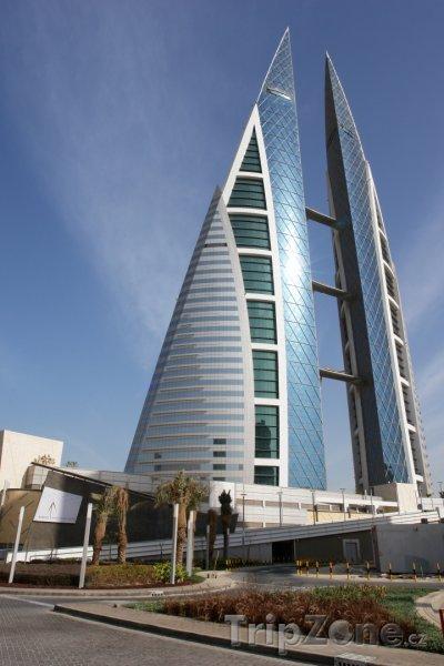 Fotka, Foto WTC Twin towers v Manámě (Bahrajn)