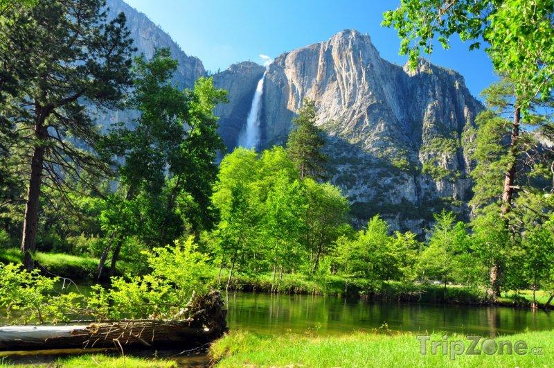 Fotka, Foto Yosemitský vodopád (USA)