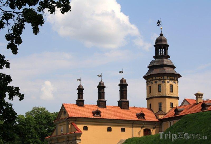 Fotka, Foto Zámek v Ňasviži (Bělorusko)