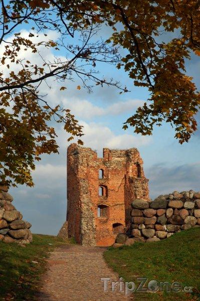Fotka, Foto Zřícenina hradu v Novogrodeku (Bělorusko)
