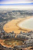 Agadir, pohled na pobřeží