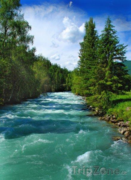 Fotka, Foto Altajská republika, řeka Kucherla (Rusko)