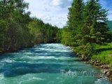 Altajská republika, řeka Kucherla
