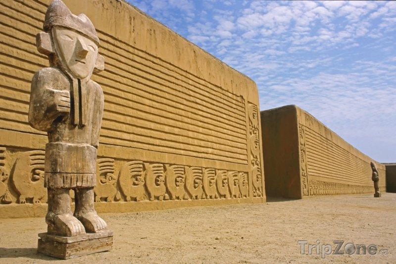 Fotka, Foto Archeologické naleziště Chan Chan (Peru)