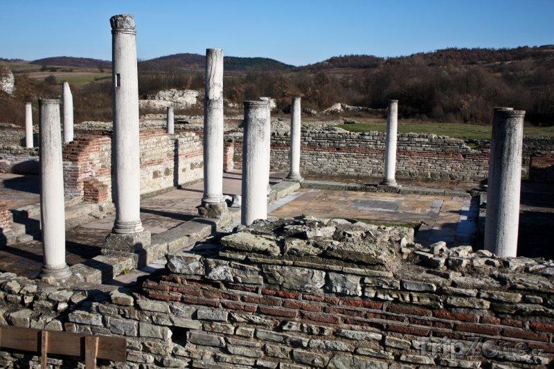 Fotka, Foto Archeologické naleziště Gamzigrad (Srbsko)