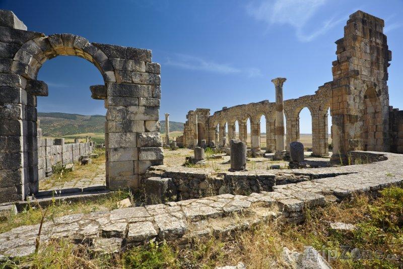 Fotka, Foto Archeologické naleziště Volubilis (Maroko)