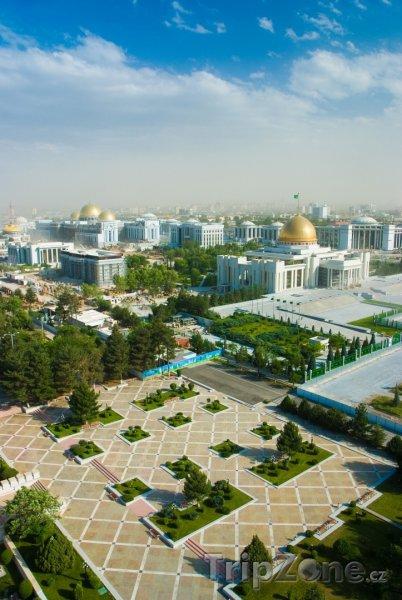 Fotka, Foto Ašchabad panorama (Turkmenistán)