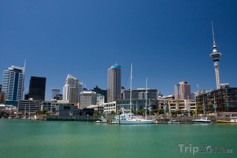 Fotka, Foto Auckland, přístav (Nový Zéland)