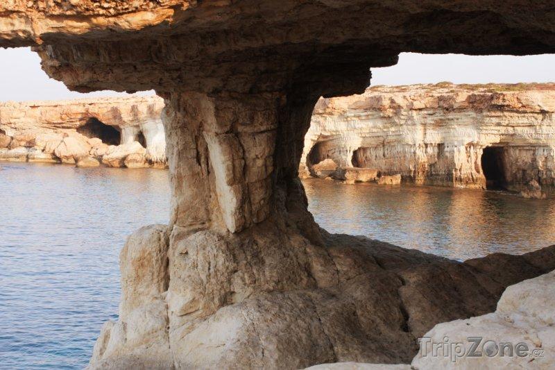 Fotka, Foto Ayia Napa, jeskyně (Kypr)