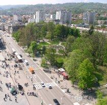 Banja Luka, pohled na městský park