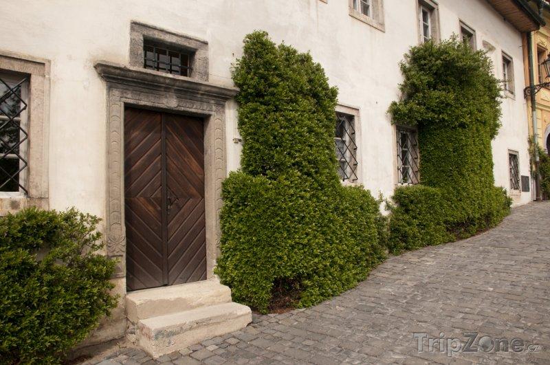 Fotka, Foto Banská Štiavnica, dům v historickém centru města (Slovensko)