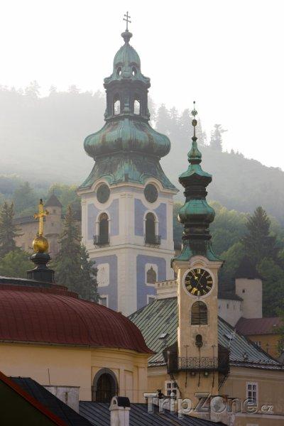 Fotka, Foto Banská Štiavnica, věž Starého zámku (Slovensko)