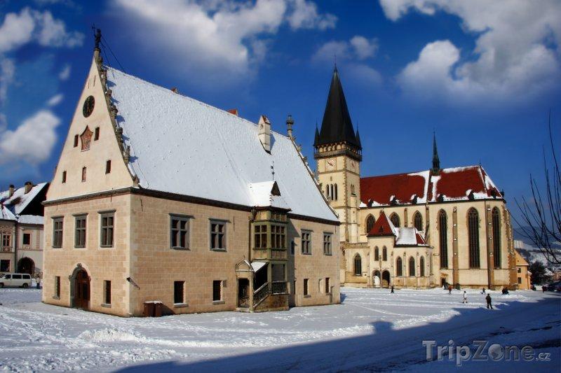 Fotka, Foto Bardejov, kostel sv. Egídia (Slovensko)