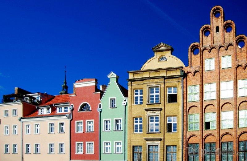 Fotka, Foto Barevné domy v Gdaňsku (Polsko)