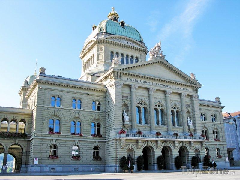 Fotka, Foto Bern, sídlo parlamentu (Švýcarsko)