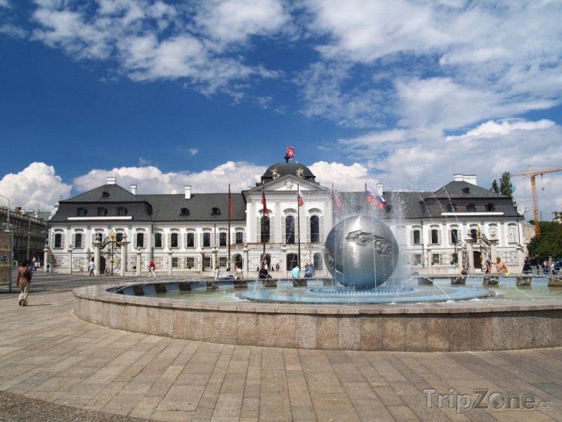 Fotka, Foto Bratislava, Grasalkovičův palác (Slovensko)
