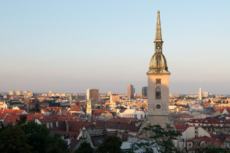 Fotka, Foto Bratislava, katedrála svatého Martina (Slovensko)