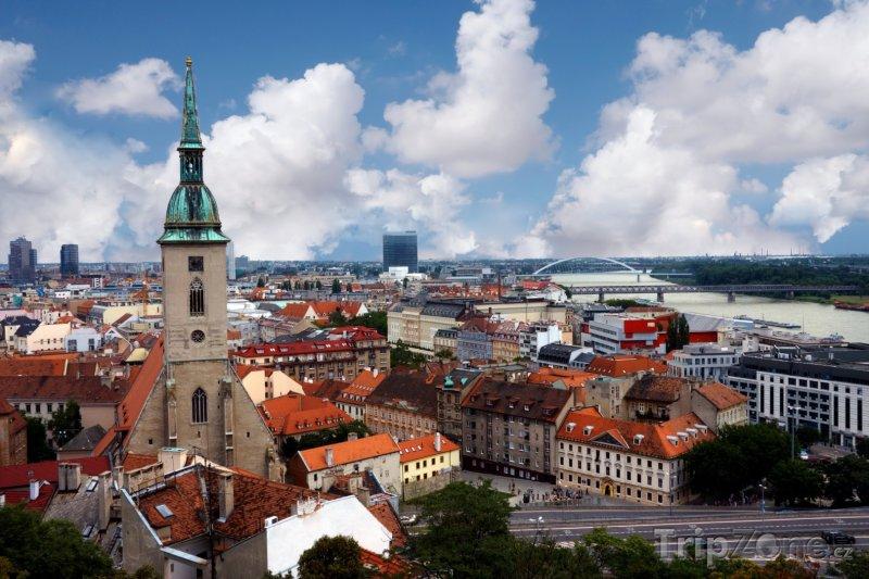 Fotka, Foto Bratislava panorama (Slovensko)