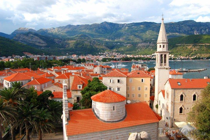 Fotka, Foto Budva, panorama města (Černá Hora)
