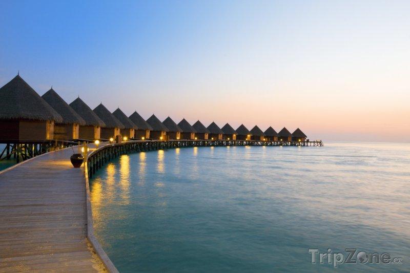 Fotka, Foto Bungalovy na moři (Maledivy)