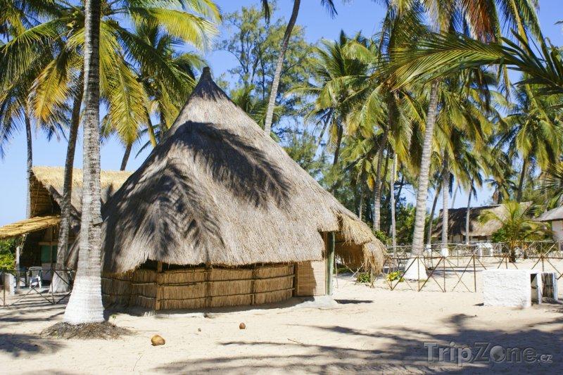 Fotka, Foto Bungalovy na pláži Savane ve městě Beira (Mosambik)