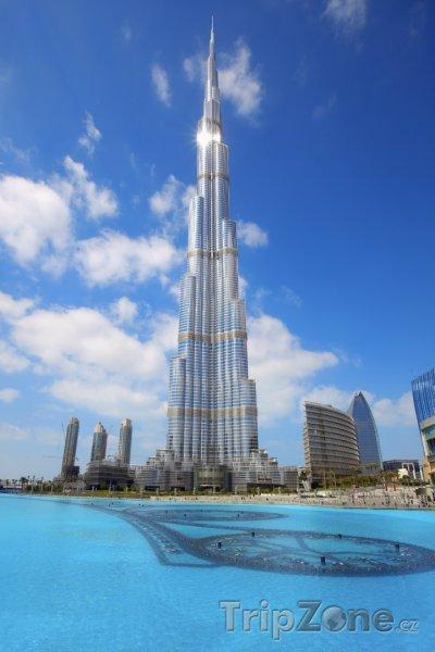 Fotka, Foto Burdž Chalífa v Dubaji (Spojené arabské emiráty)