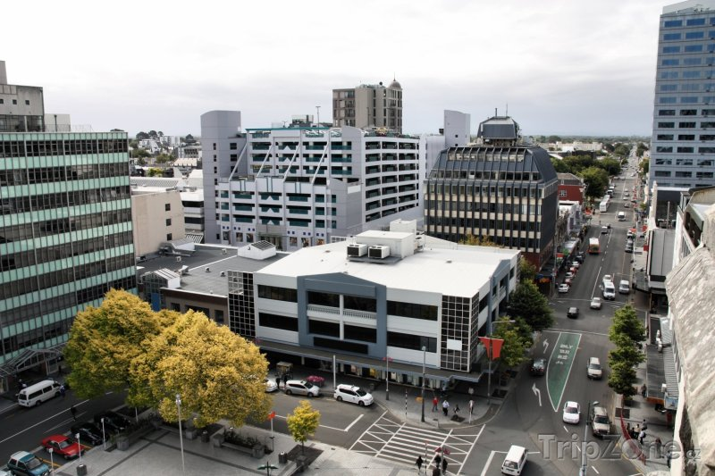Fotka, Foto Centrum města Christchurch (Nový Zéland)