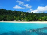 Champagne beach na ostrově Espiritu Santo