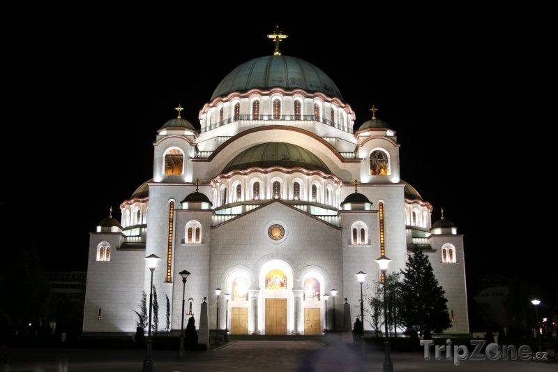 Fotka, Foto Chrám svatého Sávy (Bělehrad, Srbsko)
