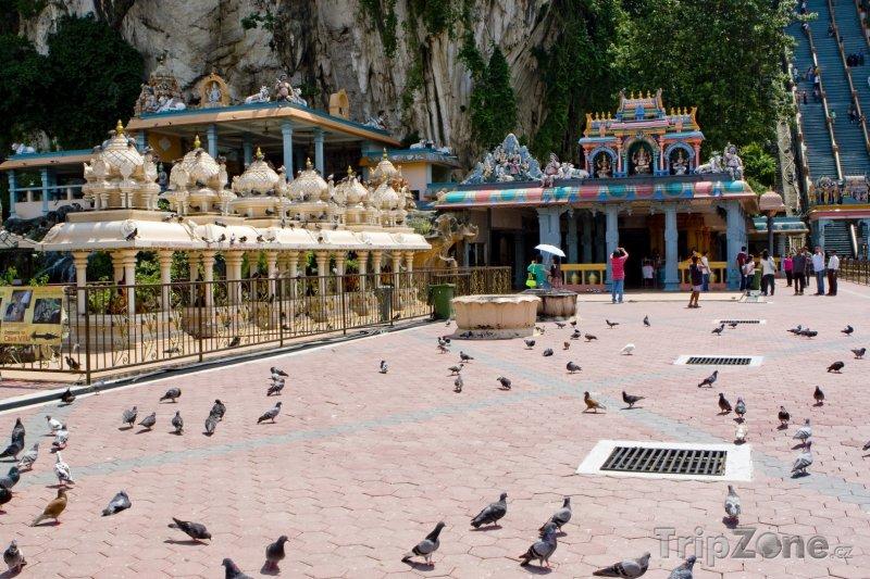Fotka, Foto Chrámové jeskyně Batu (Malajsie)
