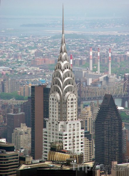 Fotka, Foto Chrysler Building na Manhattanu (USA)