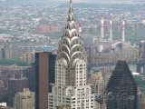Chrysler Building na Manhattanu