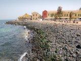 Dakar, pobřeží ostrova Goré