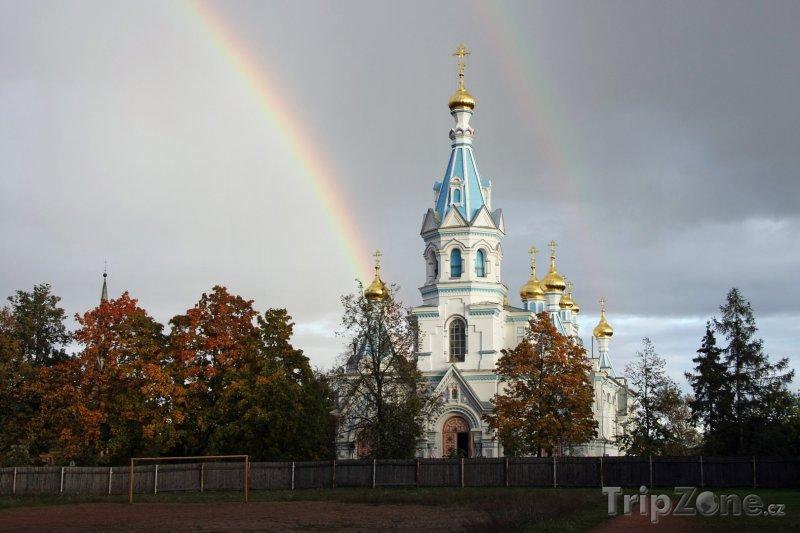 Fotka, Foto Daugavpils, Katedrála Sv. Borise a Gleba (Lotyšsko)