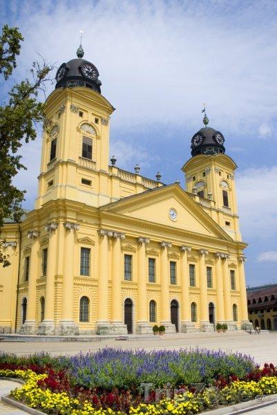 Fotka, Foto Debrecín, Velký kalvínský kostel (Maďarsko)