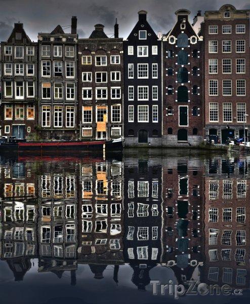 Fotka, Foto Domy v Amsterdamu (Nizozemsko)