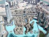 Dubaj, pohled z mrakodrapu Burdž Chalífa