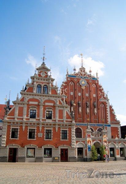 Fotka, Foto Dům u černých hlav (Riga, Lotyšsko)