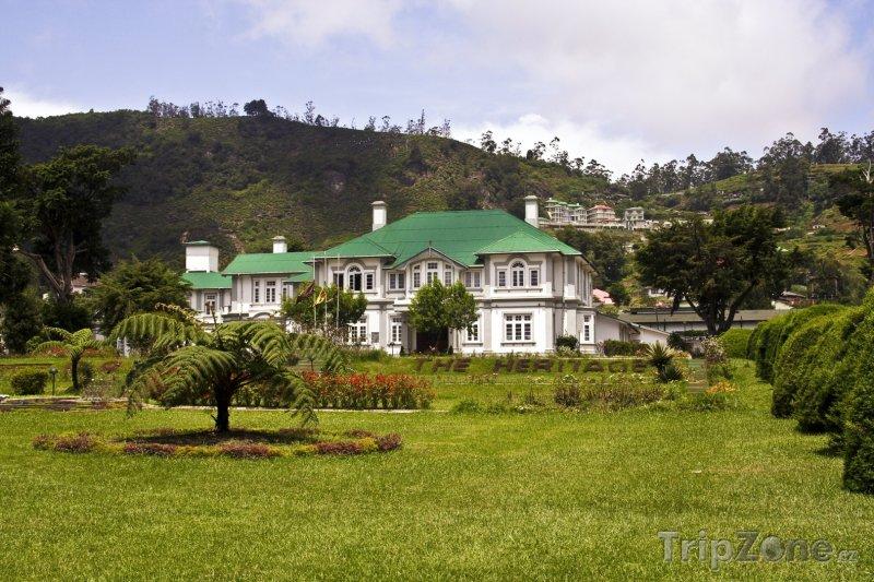 Fotka, Foto Dům ve městě Nuwara Eliya (Srí Lanka)