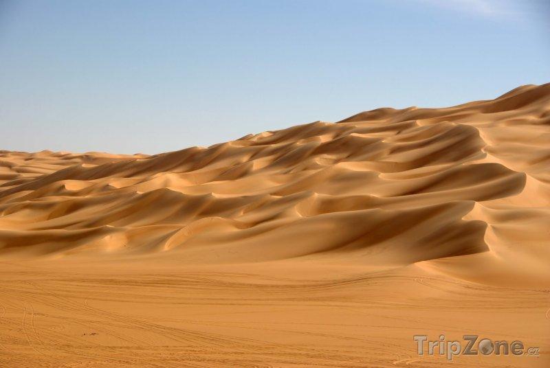 Fotka, Foto Duny v libyjské poušti (Libye)