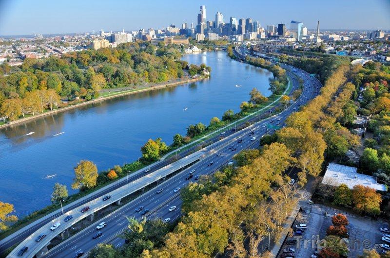 Fotka, Foto Filadelfie panorama (USA)