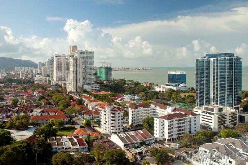 Fotka, Foto Georgetown panorama (Malajsie)