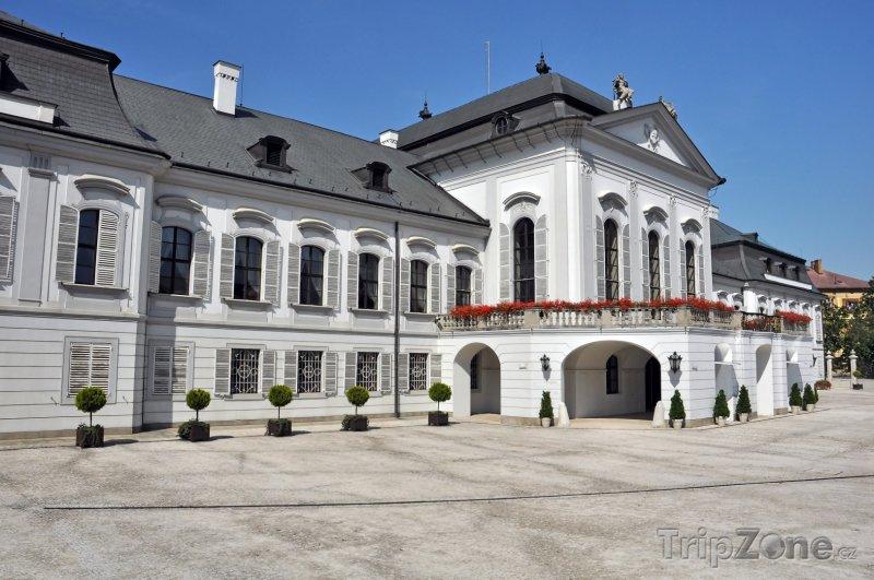 Fotka, Foto Grasalkovičův palác v Bratislavě (Slovensko)