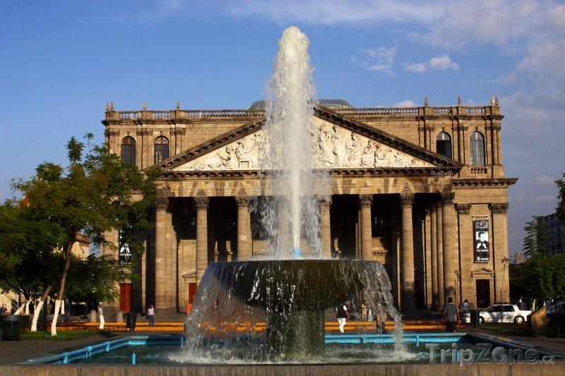 Fotka, Foto Guadalajara, divadlo Teatro Degollado (Mexiko)